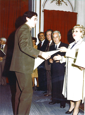 Premio de Honor fin de Grado.