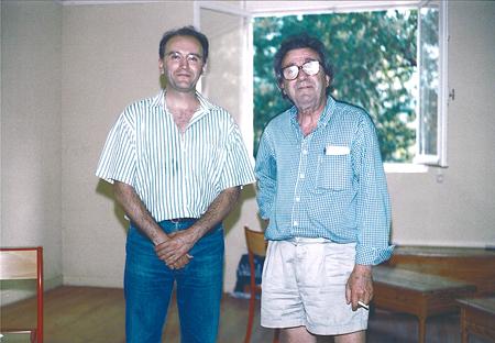 Con Alberto Ponce en Lacoume (Francia).