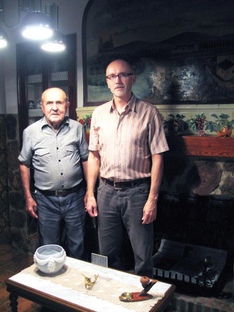 Con Salvador Campos