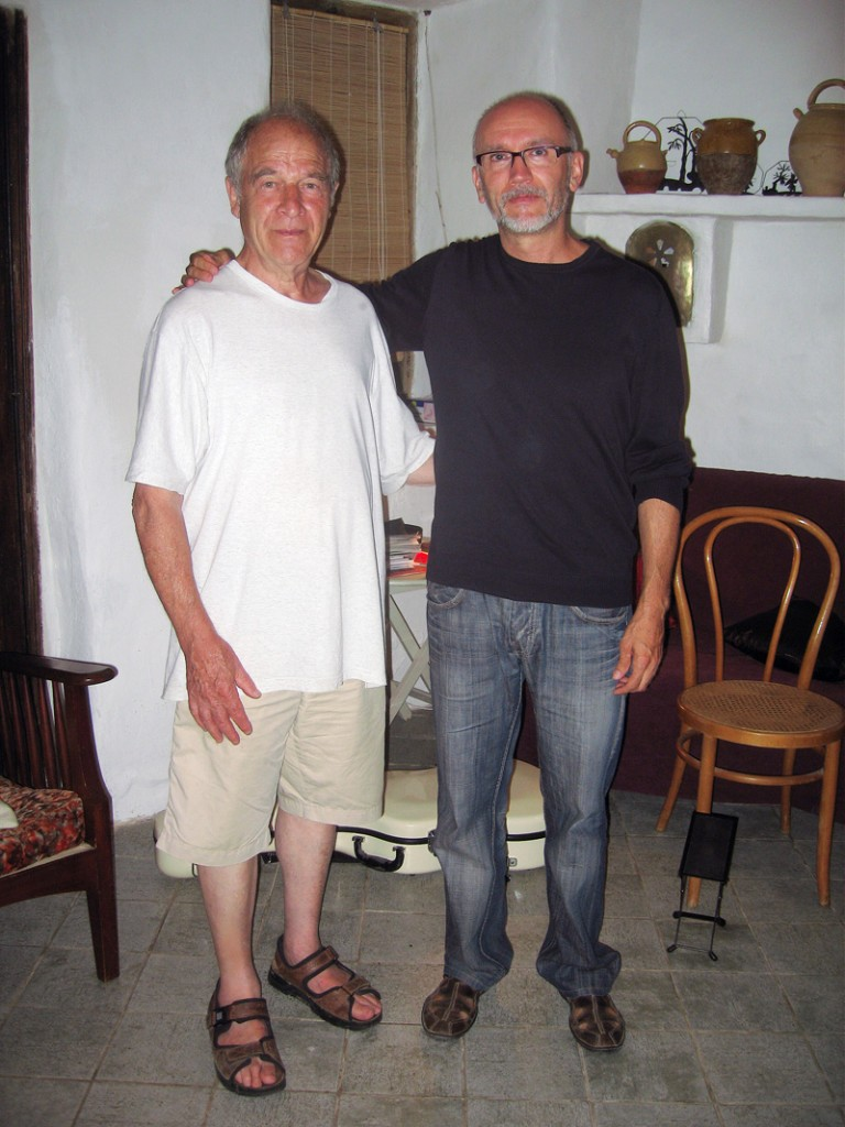 Con el director de cine francés Maurice Felvic